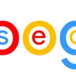 Google Logo with 'SEO' Included
